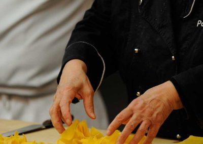 La pasta fresca Rina Poletti Caterline