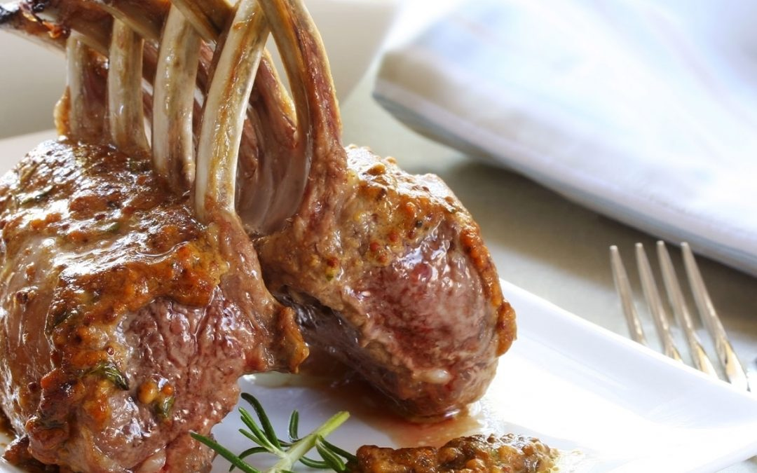 Costolette di agnello al forno con patate